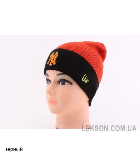 Детская вязаная шапка NY