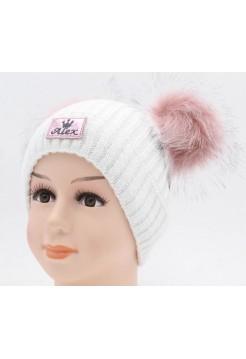 Детская вязаная шапка Джойс D46841-44-48
