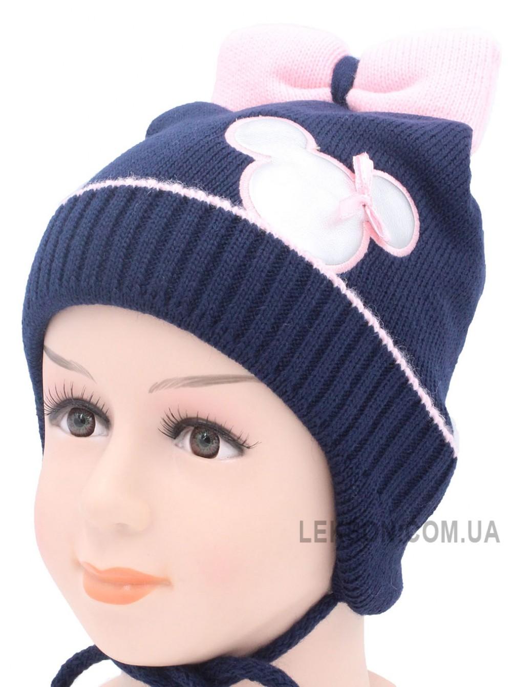 Детская вязаная шапка Мышка D42826-46-50