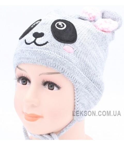 Детская вязаная шапка Линда D43426-44-46