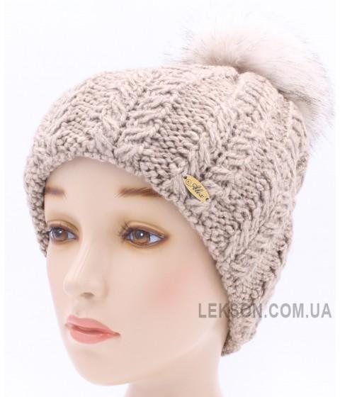 Детская вязаная шапка Тиффани W21531-50-56