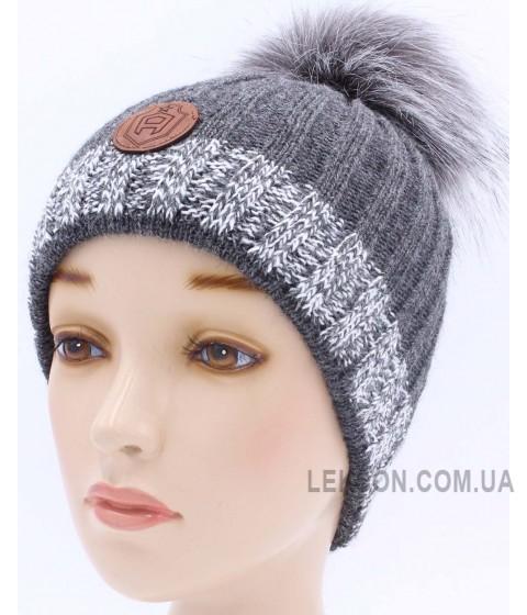 Детская вязаная шапка Брайтон D42228-48-52