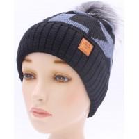 Детская вязаная шапка Алекс D43724-50-54