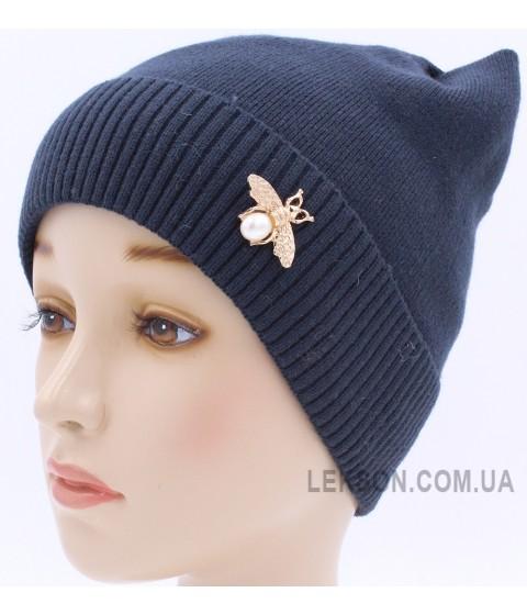 Детская вязаная шапка Нинэль