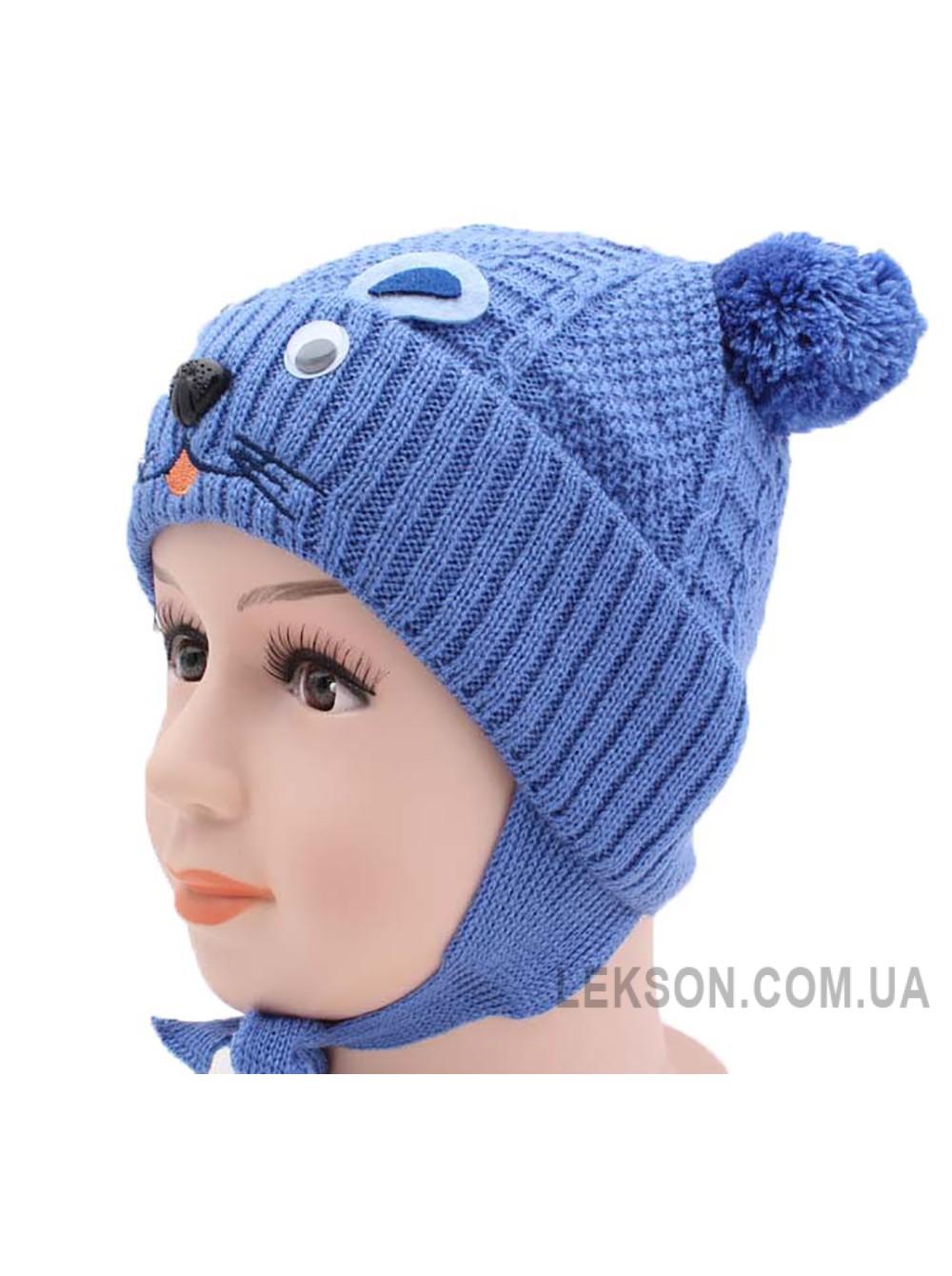 Детская вязаная шапка 116824-44-46