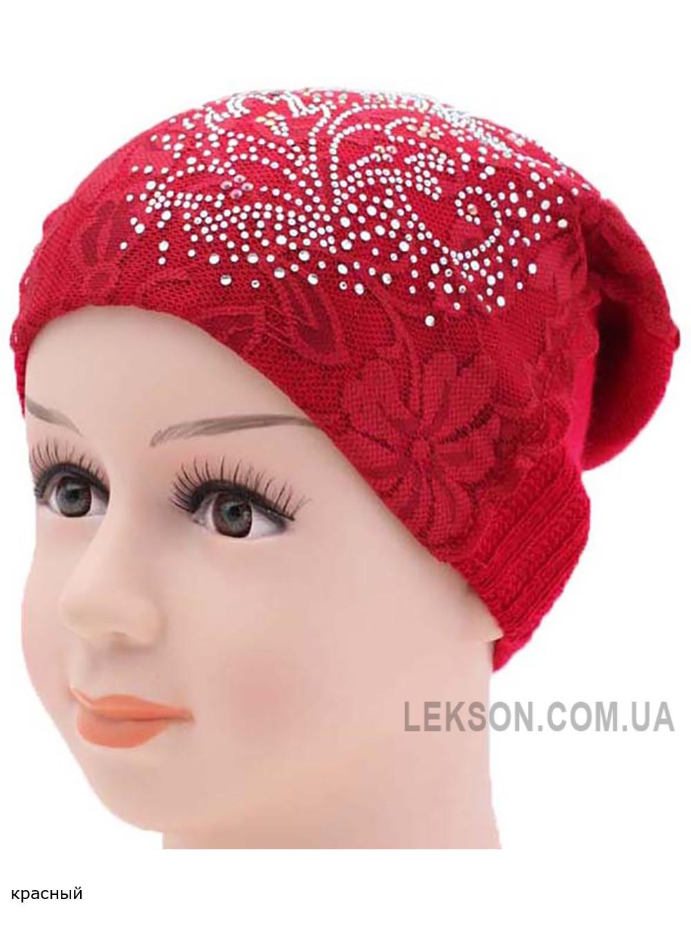 Детская вязаная шапка 128522-50-52
