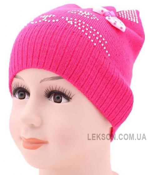 Детская вязаная шапка 130719-48-50