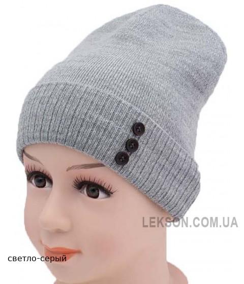 Детская вязаная шапка 127916-50-52