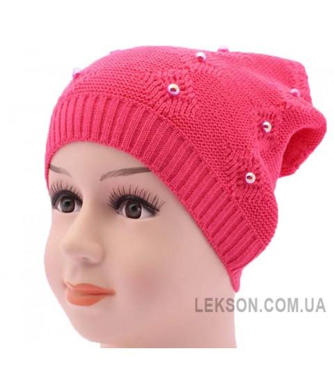Детская вязаная шапка BVA00811-46-50