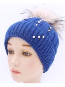 Детская вязаная шапка BVW01827-48-54