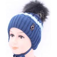 Детская вязаная шапка BVW00328-48-54