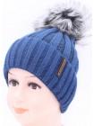 Детская вязаная шапка BVW01427-48-54