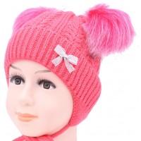 Детская вязаная шапка Ангел D54836-44-48