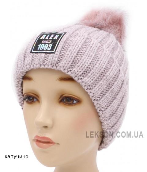 Детская вязаная шапка Ева D53834-50-54