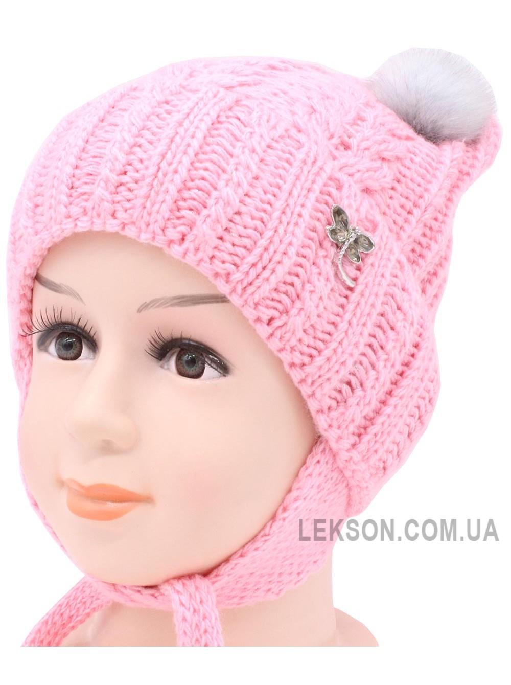 Детская вязаная шапка Лика D56236-44-48
