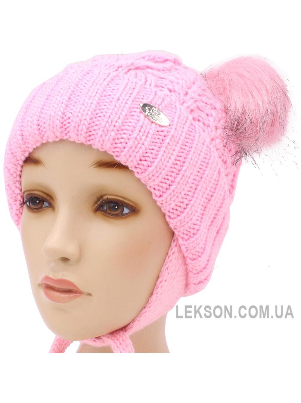 Детская вязаная шапка Эмили D52137-46-50