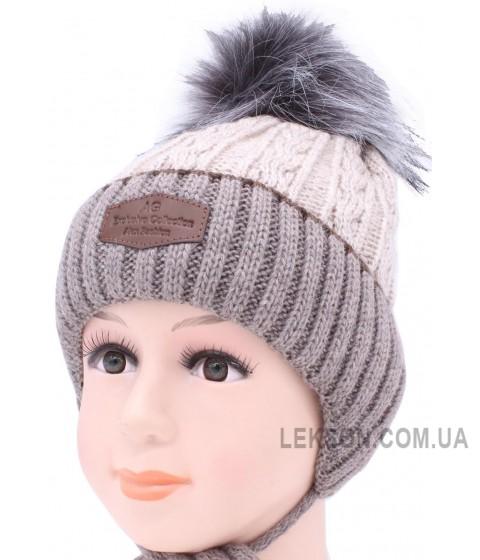 Детская вязаная шапка Адриан D50033-48-52