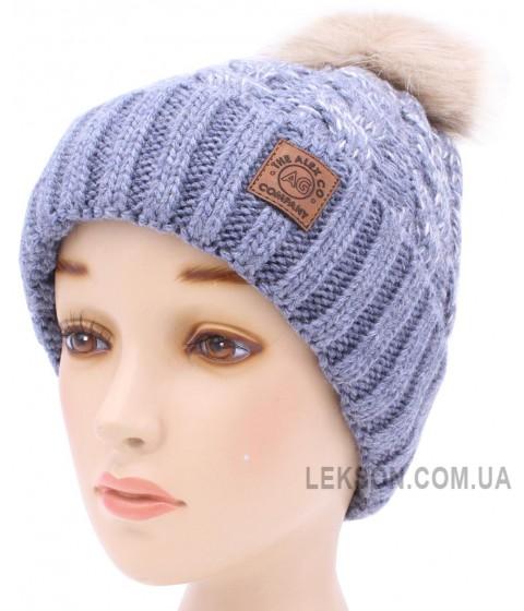 Детская вязаная шапка Бест D52333-50-54