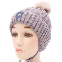 Детская вязаная шапка Джек D51433-48-52