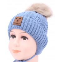 Детская вязаная шапка Друг D54232-42-46