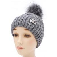 Детская вязаная шапка Роб D52032-50-54