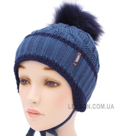 Детская вязаная шапка S95-06-28-52-54