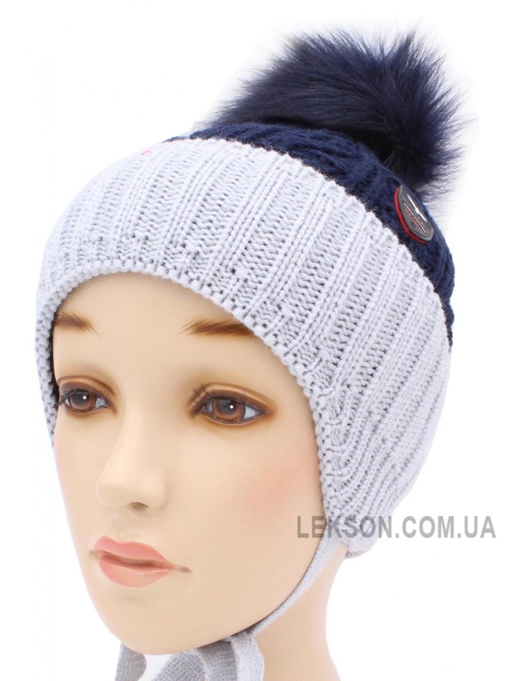 Детская вязаная шапка S95-46-28-54-56