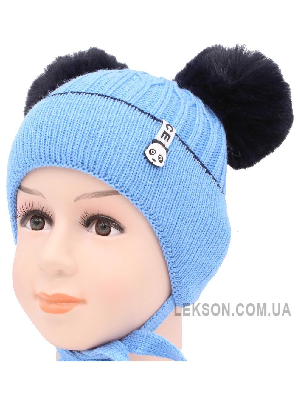 Детская вязаная шапка S97-35-32-48-50