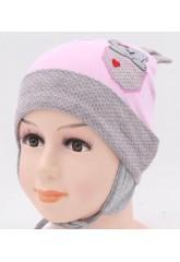 Детская трикотажная шапка Лили