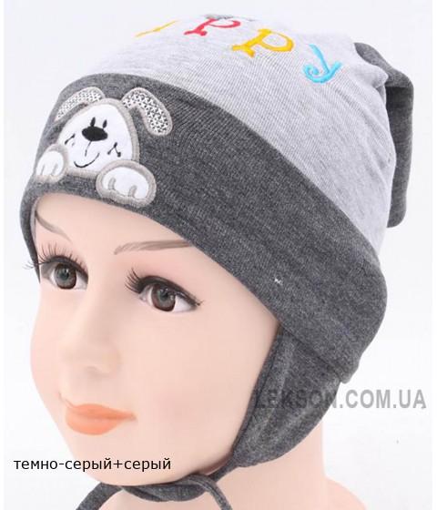 Детская трикотажная шапка Паппи