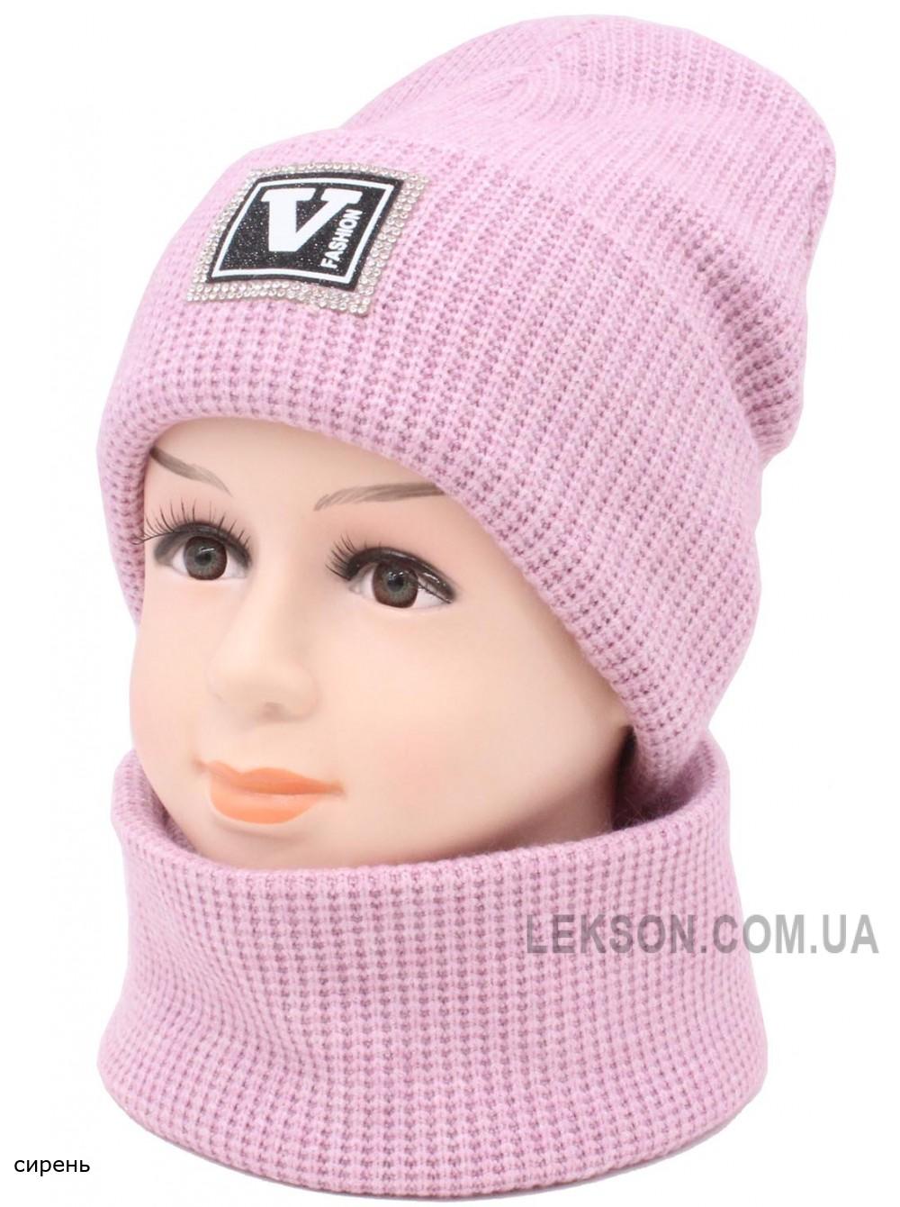 Детский вязаный комплект Валя BVW-46-50-54