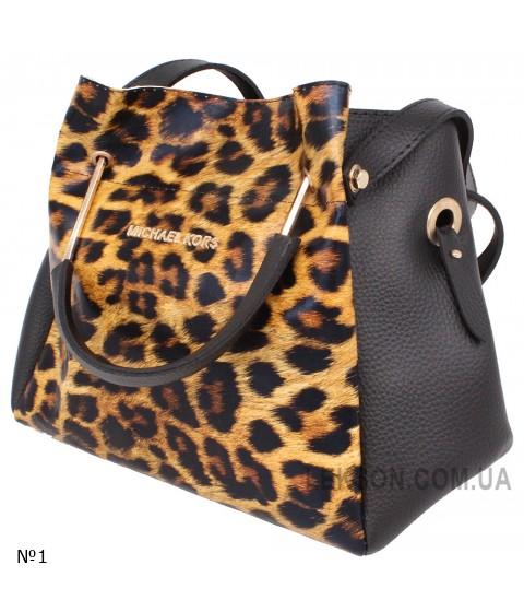 Женская модельная сумка Michael Kors кожзам 30х25х13 -Mi108-104