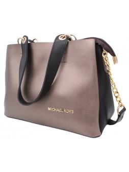 Женская модельная сумка Michael Kors кожзам 32х22х13 - Mi110-114