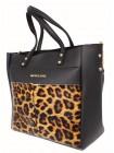 Женская модельная сумка Michael Kors кожзам 35х29х12 - Mi108-117