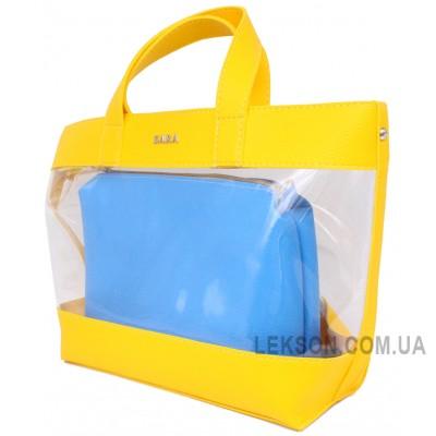 желтый+голубой