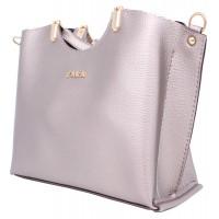 Женская модельная сумка Zara  кожзам  27х22х11 - Za108-117
