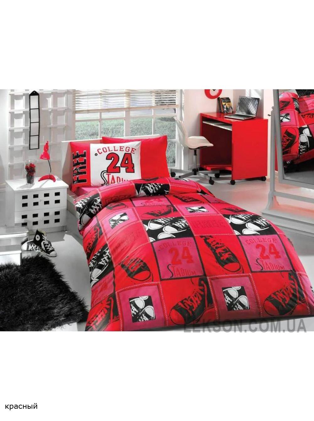 Комплект постельного белья HOBBY ранфорс College №1376