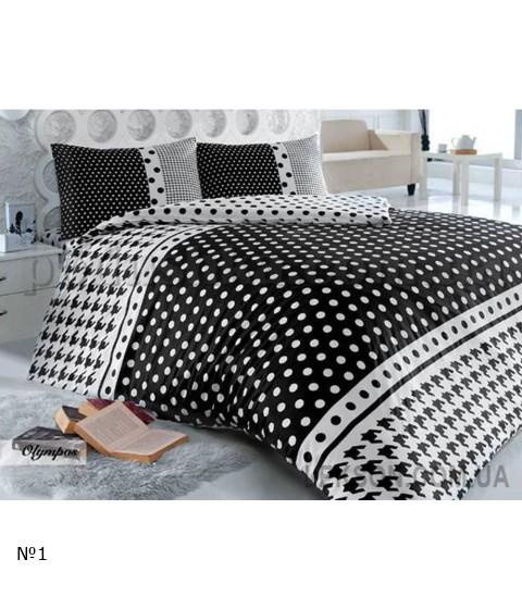 Комплект постельного белья HOBBY ранфорс OLYMPOS №13246