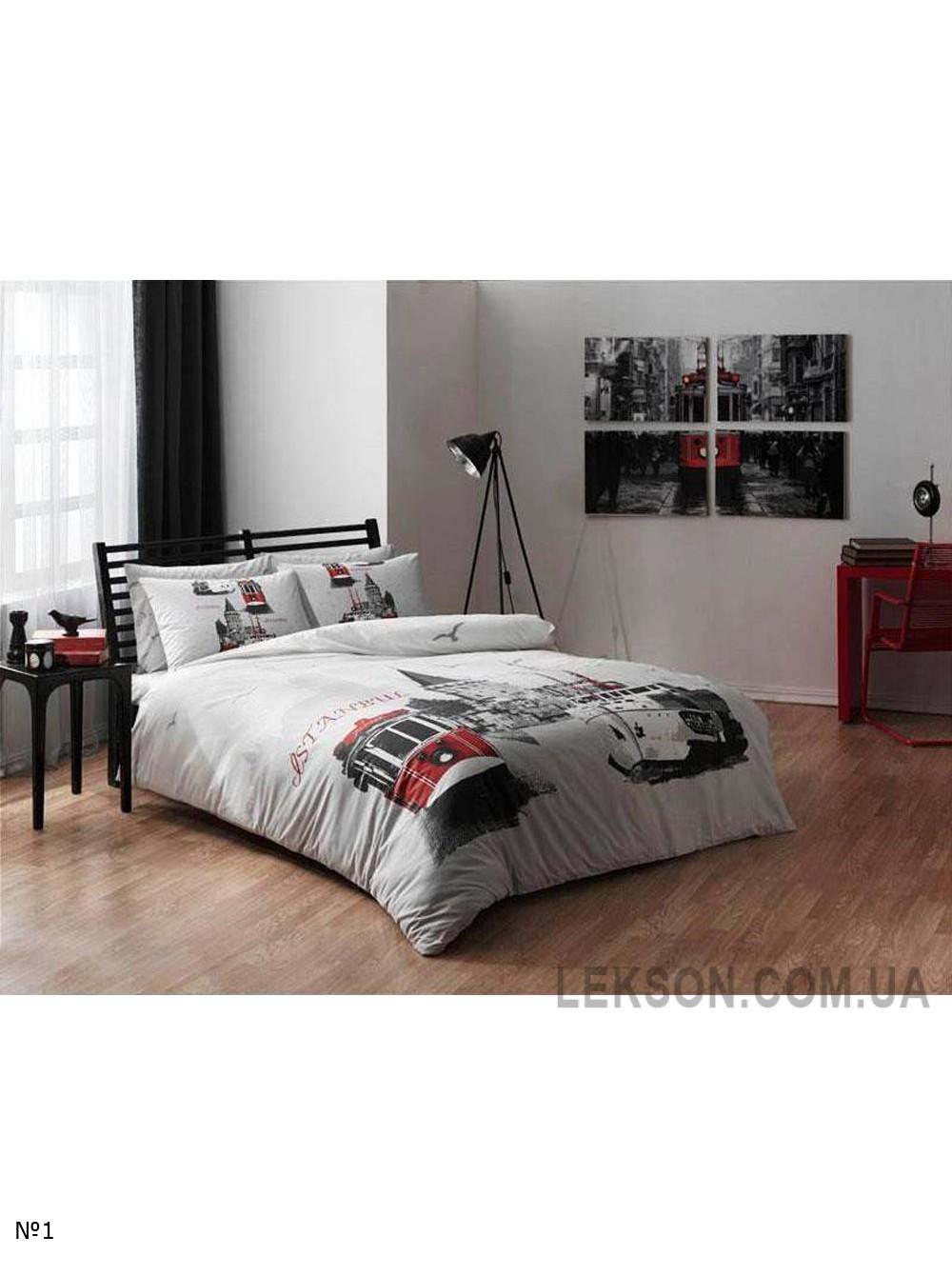 Комплект постельного белья Tac Ranforce Istanbul Артикул № 14682