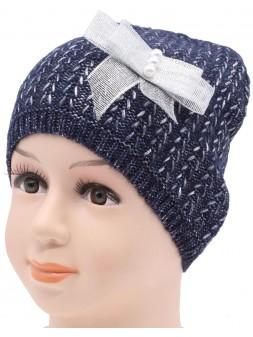 Детская вязаная шапка Косичка DV10821-48-52