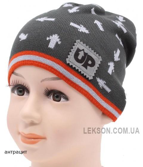 Детская вязаная шапка Стрела DV11021-46-50