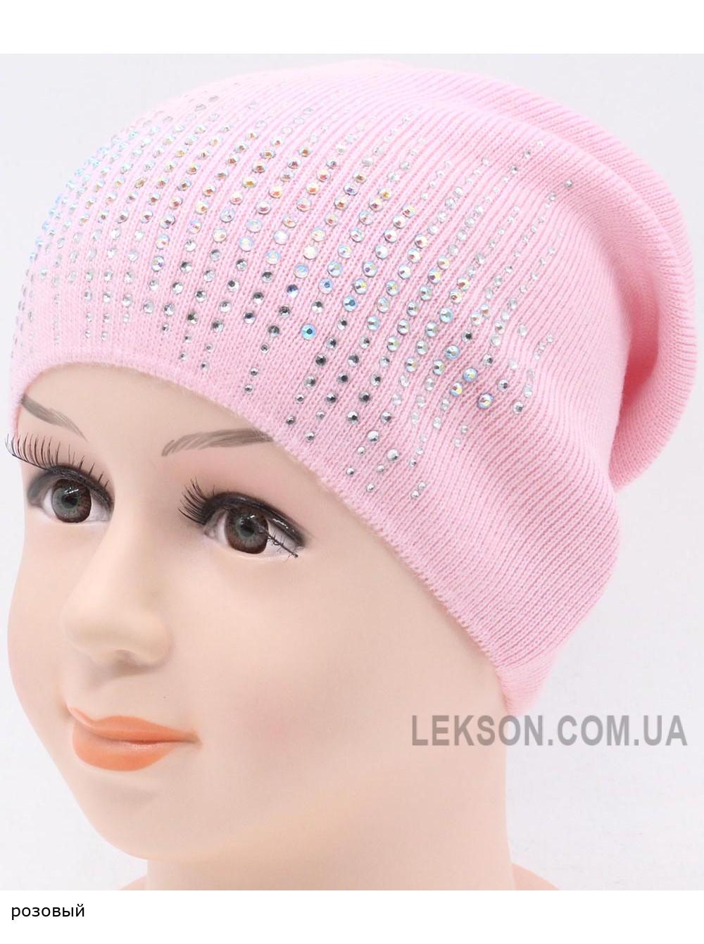 Детская вязаная шапка Кристалл DV11830-46-50