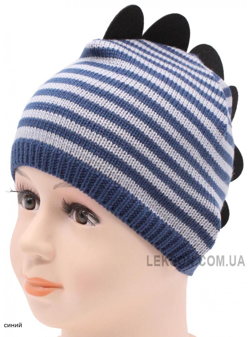 Детская вязаная шапка Дракоша DV119-29-44-48