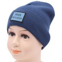 Детская вязаная шапка Страйк DV11322-44-48