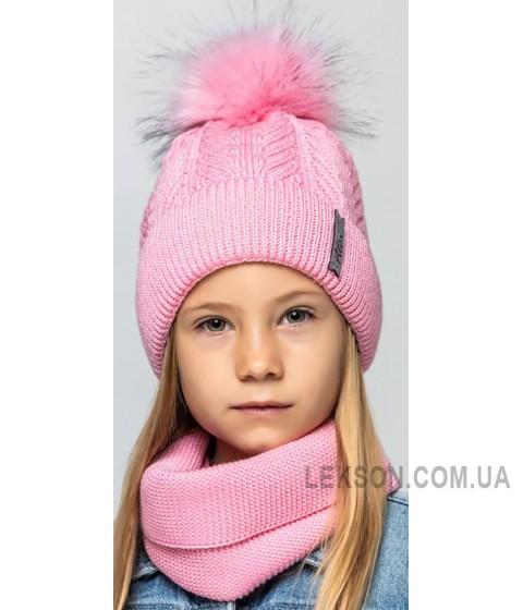 Детская вязаная шапка D627295-48-52 Ванесса