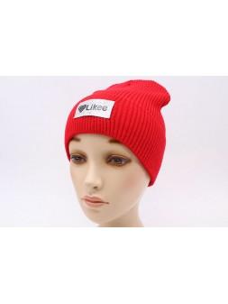 Детская вязаная шапка №57125-54-56 Лайк
