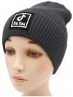 Детская вязаная шапка №58120 тик ток-54-56