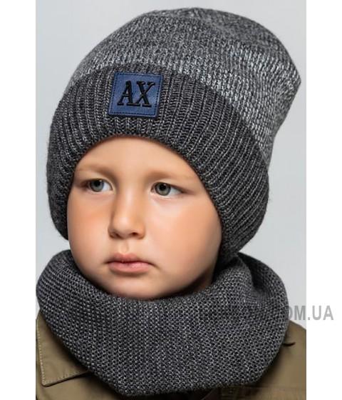 Детская вязаная шапка D634285-48-52 Ник