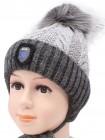 Детская вязаная шапка D617295-48-52 Щит