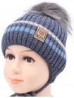Детская вязаная шапка D656295-42-46 Тедди